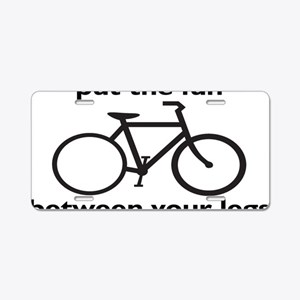 bikerectangle Aluminum License Plate