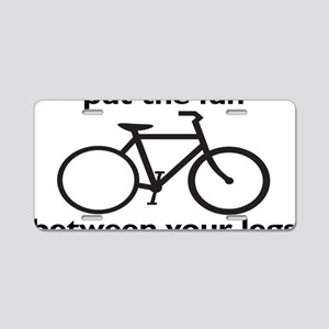 bikerectangle Aluminum License Plate
