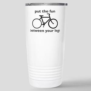 bikerectangle Stainless Steel Travel Mug