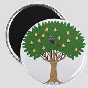 Partridge in a Pear Tree Magnet