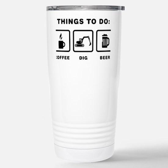 Excavator-ABH1 Stainless Steel Travel Mug