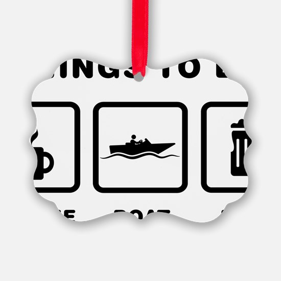 Boating-ABH1 Ornament