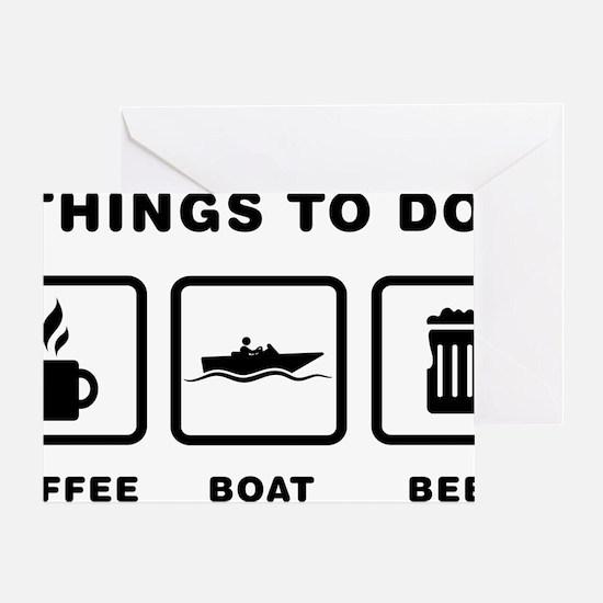 Boating-ABH1 Greeting Card