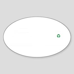 Recycling-ABK2 Sticker (Oval)