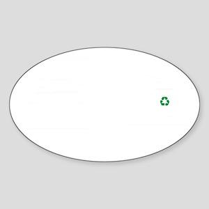 Recycling-ABJ2 Sticker (Oval)