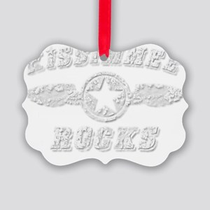 KISSIMMEE ROCKS Picture Ornament