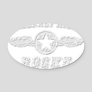 KIMBERLY HILLS ROCKS Oval Car Magnet