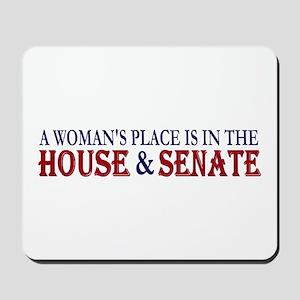 Woman's Place Mousepad