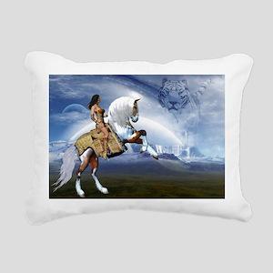 dl_laptop_skin Rectangular Canvas Pillow