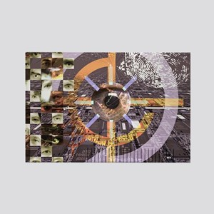 Computer surveillance Rectangle Magnet