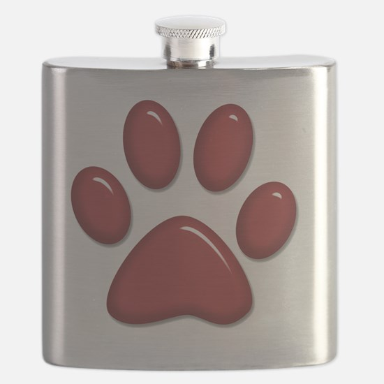 D Airedale Terrier Mom 2 Flask