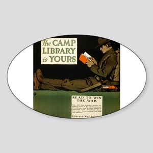 The Camp Library Is Yours - C B Falls - 1917 - Pos