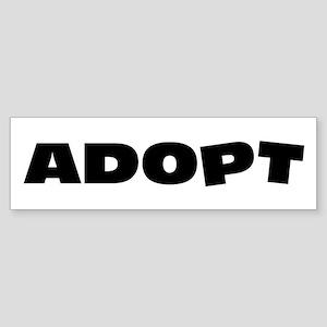 Adopt Sticker (Bumper)