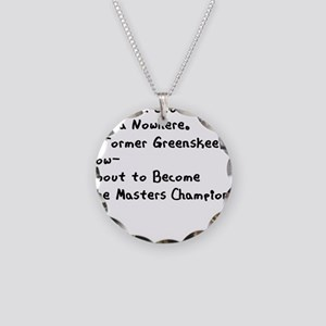 Caddyshack 2 Sided Necklace Circle Charm