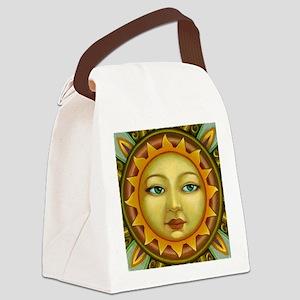 Sunface Canvas Lunch Bag