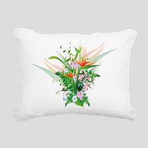 Beautiful Flowers Rectangular Canvas Pillow