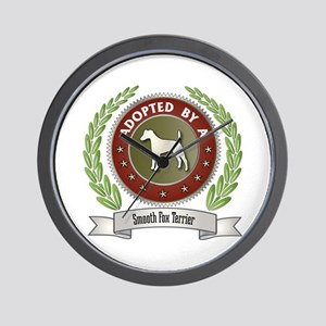Terrier Adopted Wall Clock