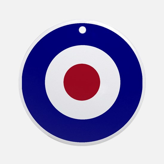British Bullseye Round Ornament