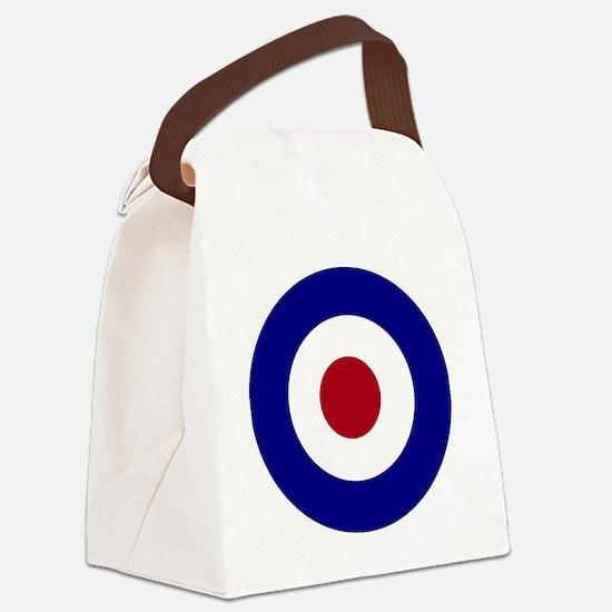British Bullseye Canvas Lunch Bag