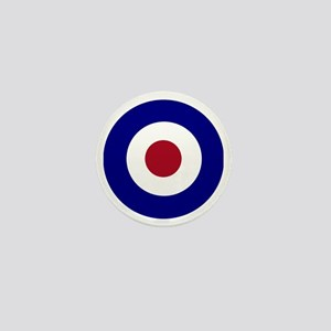 British Bullseye Mini Button