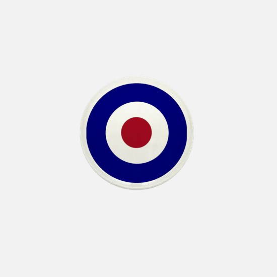 British Bullseye Mini Button