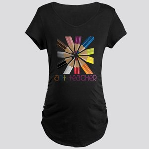 Art Teacher Maternity Dark T-Shirt