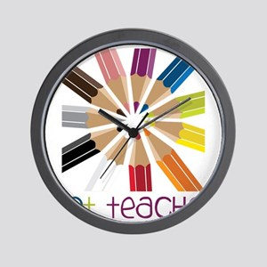Art Teacher Wall Clock