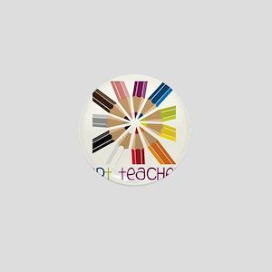 Art Teacher Mini Button
