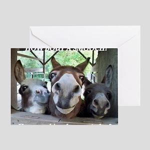 KISS THIS Greeting Card
