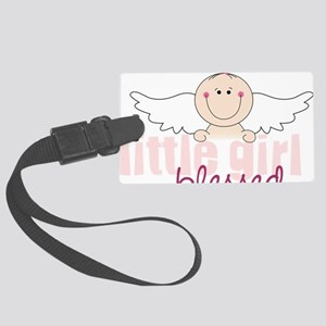 Blessed Large Luggage Tag