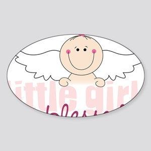 Blessed Sticker (Oval)