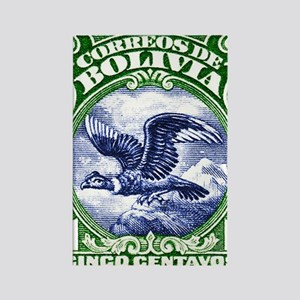 Bolivia 1928 Andean Condor Postag Rectangle Magnet