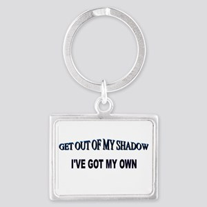 Out of My Shadow Landscape Keychain
