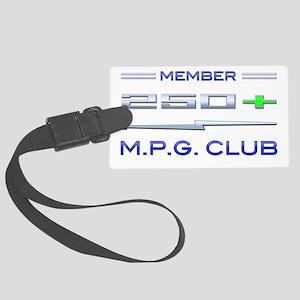 250+ MPG Club Large Luggage Tag