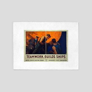Teamwork Builds Ships - William Dodge Stevens - 19