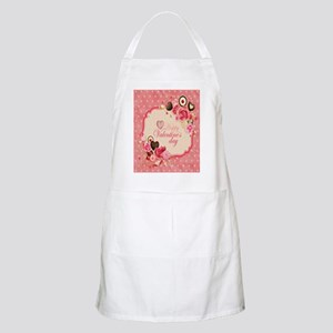 Happy Valentines Day to my love Apron