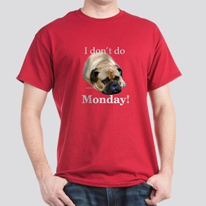 Bullmastiff Monday Dark T-Shirt