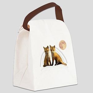 Fox Fox Canvas Lunch Bag