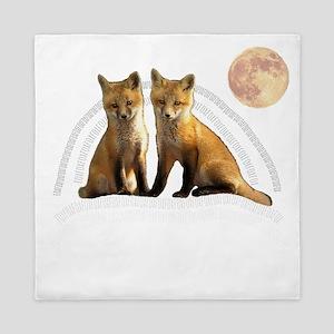 Fox Fox Queen Duvet