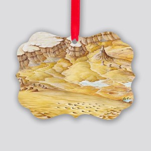 Desert features Picture Ornament