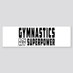 Gymnastics Is My Superpower Sticker (Bumper)