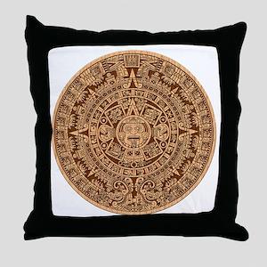 Mayan Calendar 2012 End of the world Throw Pillow