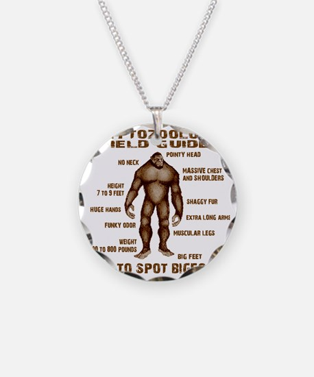 how to spot bigfoot Necklace