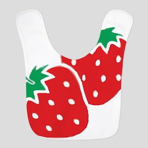 Sweet Strawberries Bib