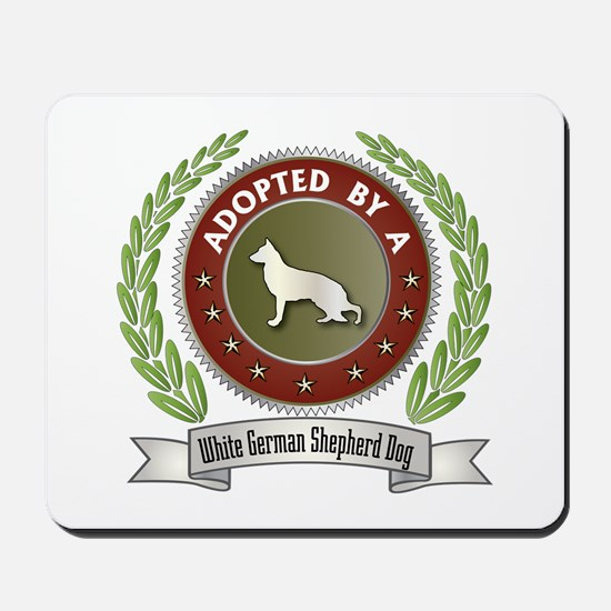 Shepherd Adopted Mousepad