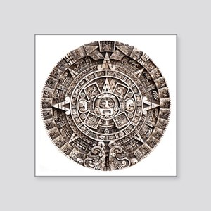 "Mayan End of the World 2012 Square Sticker 3"" x 3"""