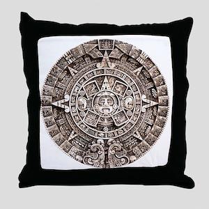 Mayan End of the World 2012 Calendar Throw Pillow