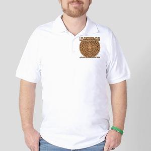 funny mayan apocalypse 2012 survivor Golf Shirt