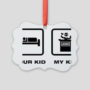 Judge-ABJ1 Picture Ornament
