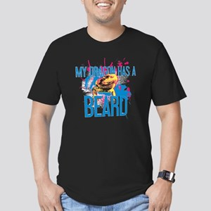 Bearded Dragon - My Dr Men's Fitted T-Shirt (dark)